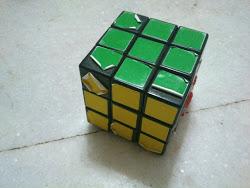 used rubik cube