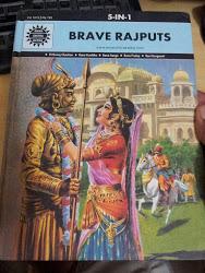Amar Chitra Katha _ brave rajputs