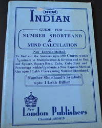 Number Short Hand and Mind Calculation